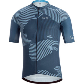 GORE WEAR C3 Combat Maillot de cyclisme Homme, orbit blue/deep water blue